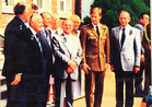 Passendale: jonge Prins Philippe bezoekt Passendale