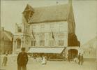 Lo: restauratie van het stadhuis in 1906