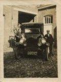 Koksijde: wasserij met de eerste na-oorlogse auto, een Ford T