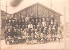 Zonnebeke: de tweede klas van de barakkenschool.