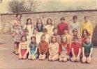Oostkerke: leerlingen gemeenteschool in 1973