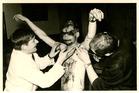 Lo: schachtendoop bij studentenclub Moeder LUC in de jaren zestig