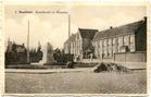Houthulst: de Markt en het klooster na de Tweede Wereldoorlog.