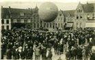 Poperinge: reclameballon op de Grote Markt
