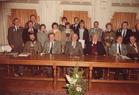 Ieper: sportlaureaten 1983 ontvangen op het stadhuis