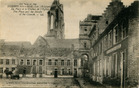 Lo: de markt en de Sint-Pieterskerk tijdens de Eerste Wereldoorlog