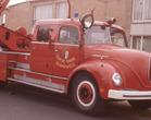 De Panne: eerste ladderwagen brandweer