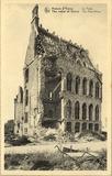 Ieper: vernielde postgebouw