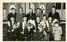 Vladslo: viering kampioenen 1959 bij 'De Wiezevink'