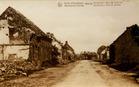 Houthulst: de Kerkstraat tijdens de Eerste Wereldoorlog