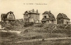 De Panne: villa's in Zeekruisdoornweg en Konijnenweg