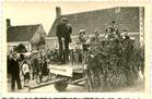 Pollinkhove: de bevrijdingsstoet  op 10 juni 1945