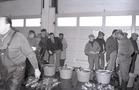 Visverkoop in de Vismijn te Nieuwpoort