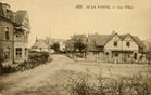 De Panne: bebouwing aan het Jeanne D'Arcplein, circa 1926