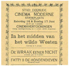 Diksmuide: cinema