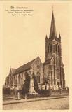 Dikkebus: kerk en gedenkteken der gesneuvelden