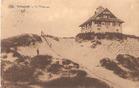 Koksijde: grote glijbaan in de duinen