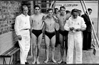 Ieper: RYSC zwemfeest Ieper 1955