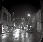 Poperinge: kerstverlichting in de Gasthuisstraat