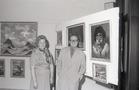 Tentoonstelling van schilderijen