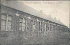 Kortemark: achterkant schoolgebouw van Markhove