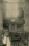 Veurne: het orgel van de St.-Walburgakerk verplaatst naar de eerste travee van het schip