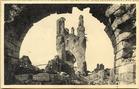 Ieper: ruïnes van het belfort