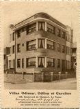 De Panne: Villa's Odimar, Odilon en Caroline in de Nieuwpoortlaan