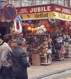 De Panne: strand- en souvenirwinkeltje