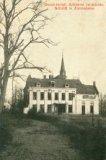 Zonnebeke:  door de oorlog beschadigd kasteel
