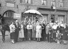Diksmuide: Statiestraat Kermis 1956