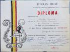Keiem: diploma 25 jaar muzikant bij Koninklijke Harmonie Sint-Cecilia