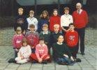 Oostkerke: leerlingen gemeenteschool in 1989