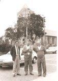 De Panne: het kerkelijk trio van Adinkerke