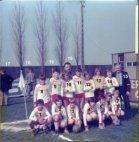 Menen: ploegfoto uit het album van Cercle Sportif Yprois nu KVK