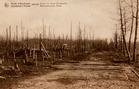 Houthulst: de weg naar Westrozebeke tijdens de Eerste Wereldoorlog