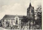 Merkem: Sint-Bavokerk in de jaren zestig