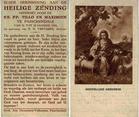 Passendale: missiezending 1934