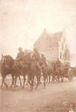 De Panne: soldaten te paard