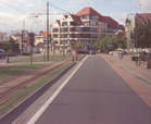 De Panne: Kerkstraat na aanleg tramlijn