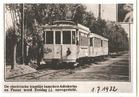 De Panne: in gebruikname elektrische tram