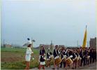 Keiem: trommelkorps bij Sint-Niklaasfeest