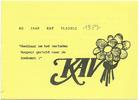 Vladslo : K.A.V. : 40 jaar