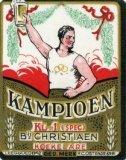 Koekelare: etiket 'Kampioen'bier van brouwerij Christiaen