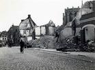 Diksmuide: Wereldoorlog II: schade bombardement 27.05.1940