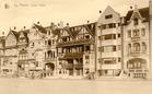 De Panne: Villa l'Escale, 1924, eerste naoorlogse nieuwbouw op de dijk