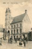 Lo: het stadhuis tussen 1908 en 1914