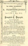 Vladslo: bidprentje Pamphile Cyrillius Depuydt