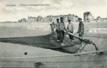 De Panne: vissers maken net vast aan kor