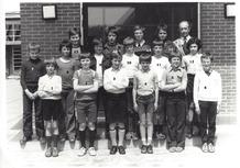 Handzame: schoolfoto zesde leerjaar